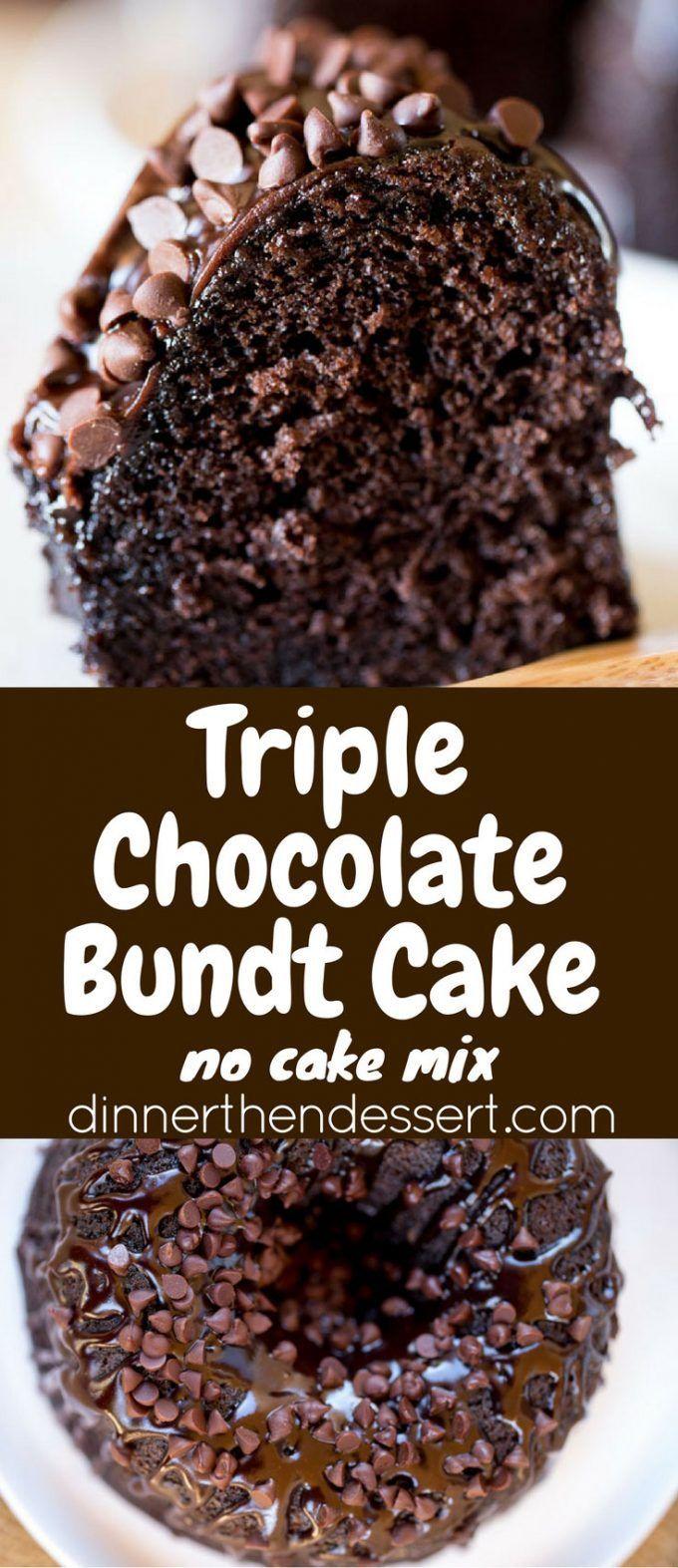 Dark Chocolate Fudge Cake Mix Pudding Recipe Loaf