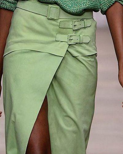 Асимметричные юбки 2015 Ermanno Scervino