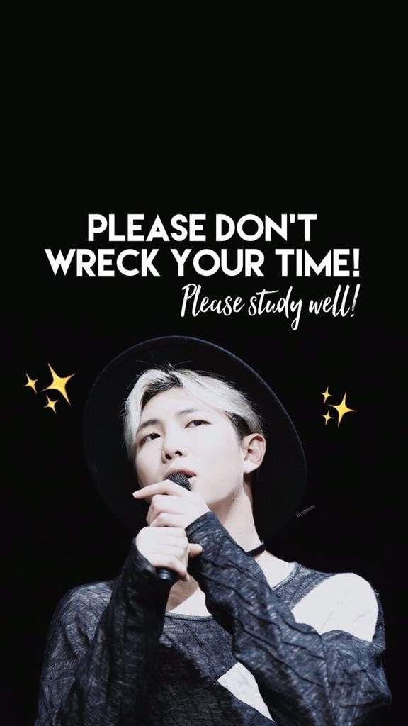 Bts Telling You To Study Namjoon Wallpaper Bts Wallpaper