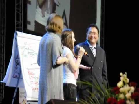 Jenah Blare and Robert Kiyosaki Video