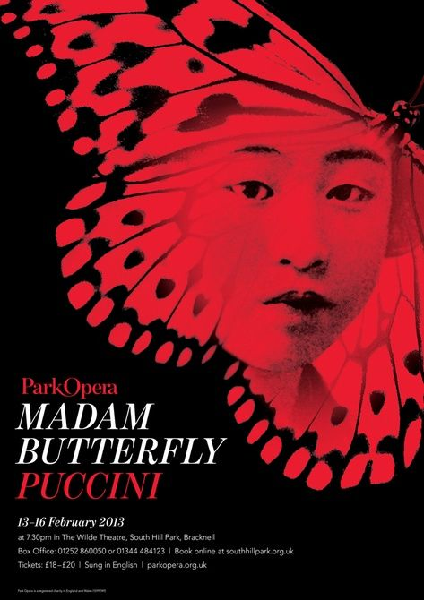 Madam Butterfly poster - Graphis