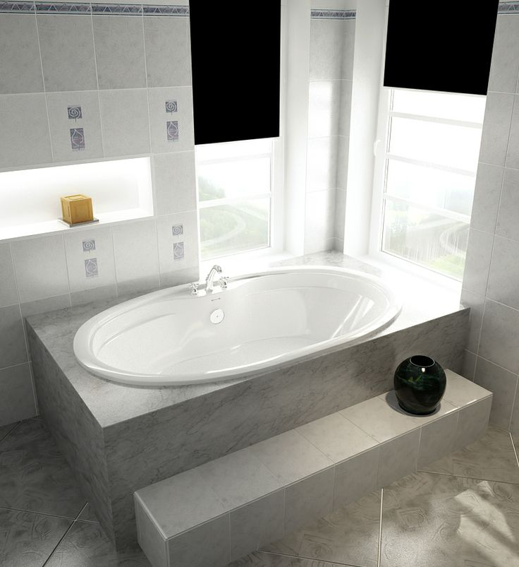 The Classic Model 6938 – 69″ Oval Acrylic Bathtub