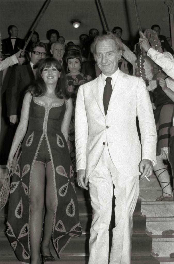 Concha Velasco y Fernando Fernán Gómez, Festival Internacional de Cine de San Sebastián 1971