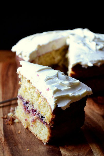 Blackcurrant and Mascarpone Victoria Sponge - a simple, delicious and decadent twist of the British teatime classic. This is frugal but oh-so indulgent.