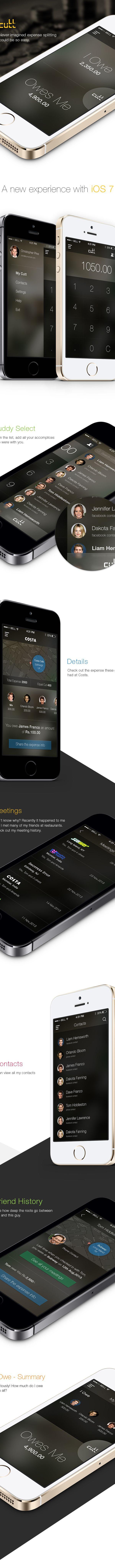 Cutt - App Concept on Behance