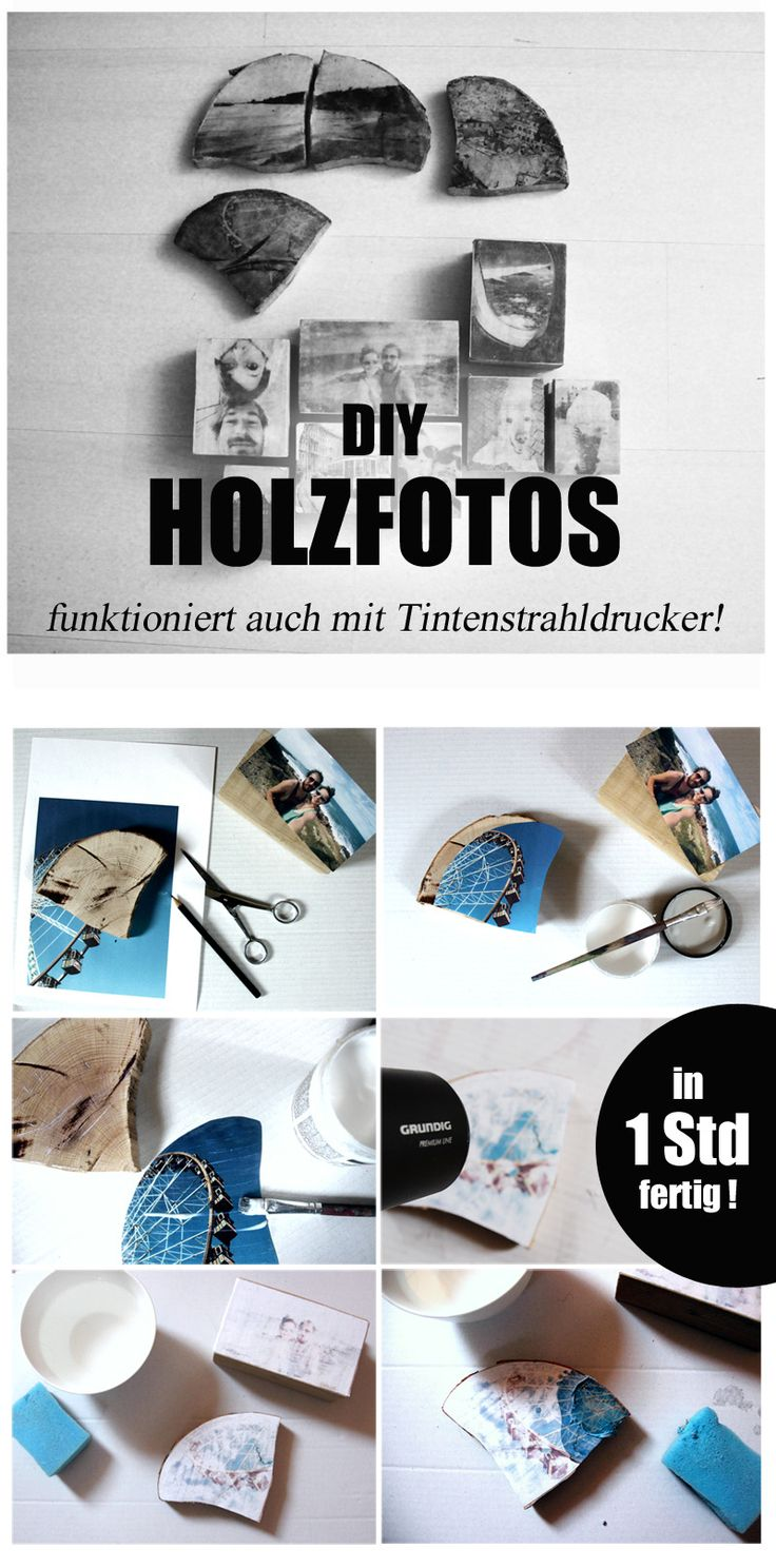 diy holzfotos selber machen bilderrahmen mal anders anleitung und. Black Bedroom Furniture Sets. Home Design Ideas