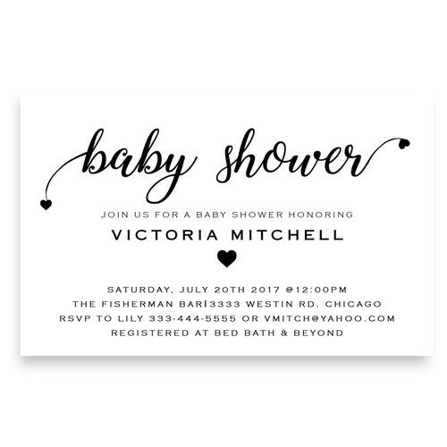 The 25+ best Modern baby showers ideas on Pinterest Story of the - baby shower invitation letter