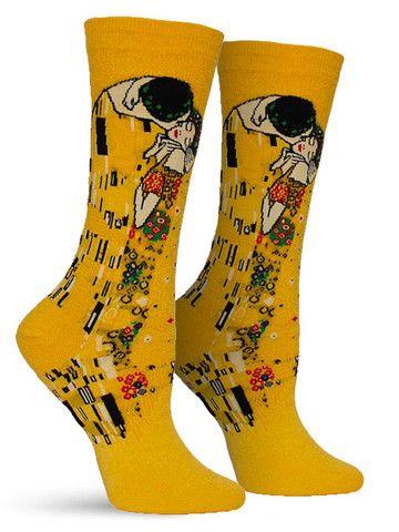 The Kiss Socks   Womens