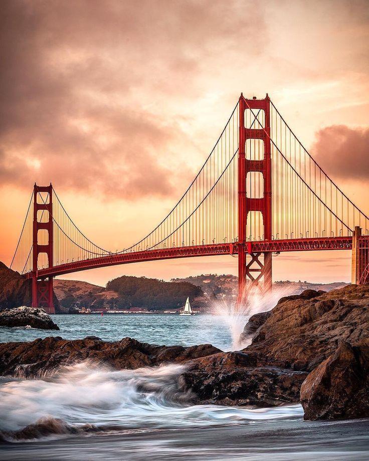The Golden Gate Bridge San Francisco California
