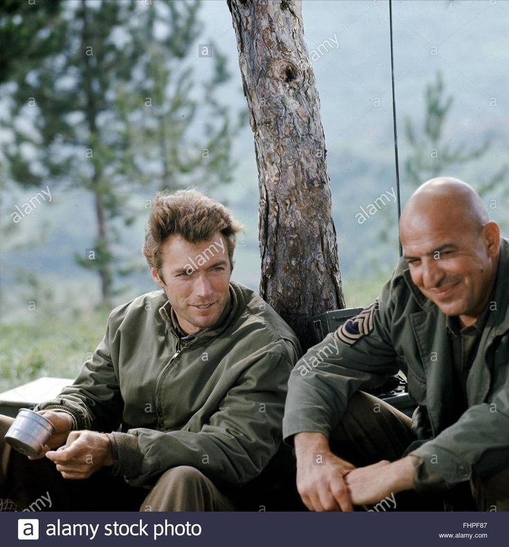 Clint Eastwood & Telly Savalas Kelly's Heroes (1970)