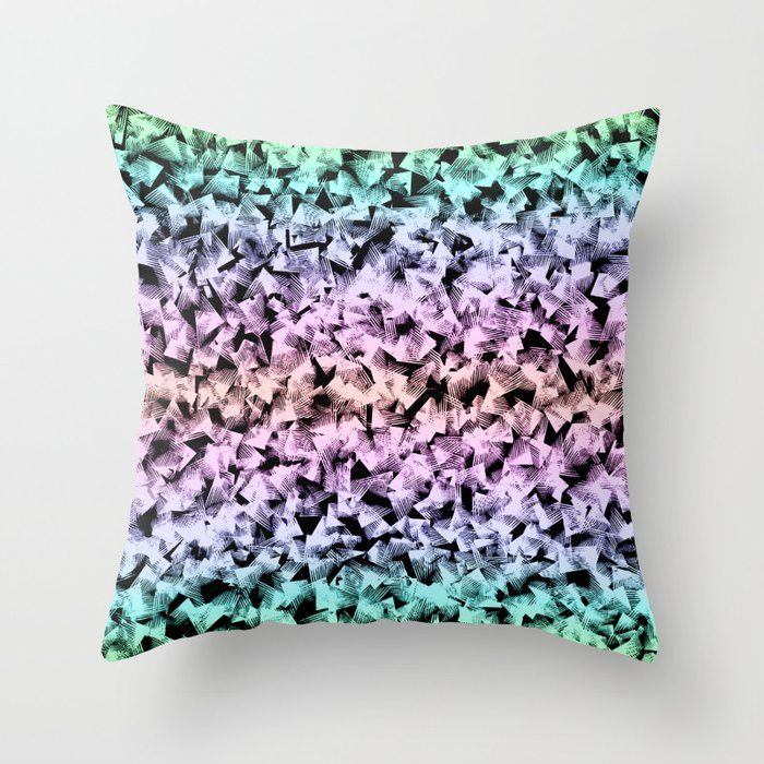Buy Lovely Geometrical Abstract Shapes In Pastel Colors Elegant Feminine Pattern Design Throw Pillow P Throw Pillows Feminine Patterns Designer Throw Pillows