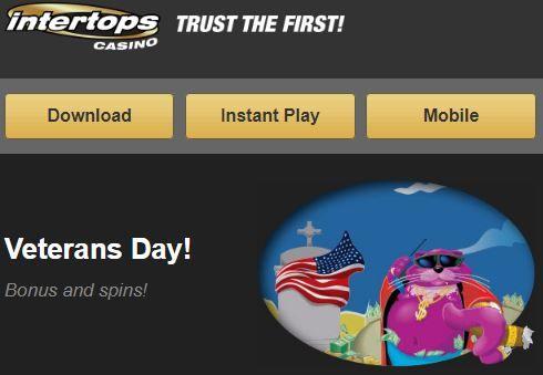 Free spins intertops casino