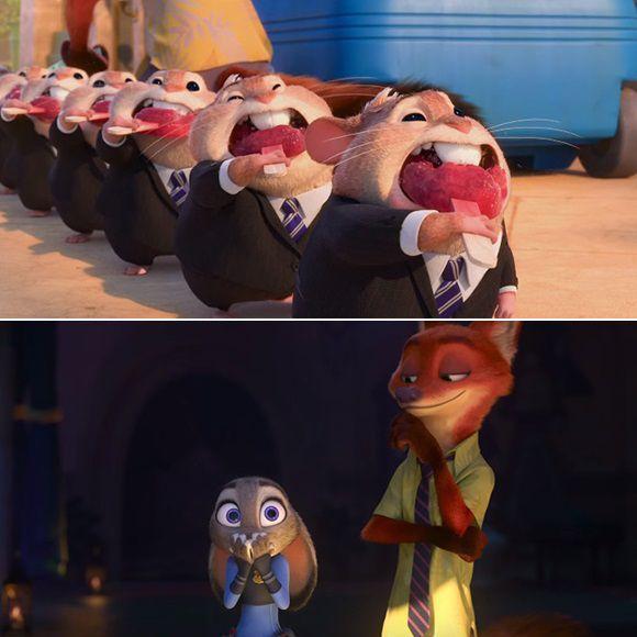 Des hamsters en habit dans la nouvelle bande-annonce de Zootopia | HollywoodPQ.com