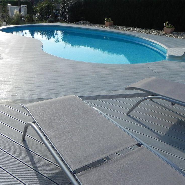 UPM ProFi Deck, Stone Grey, Lyon, France