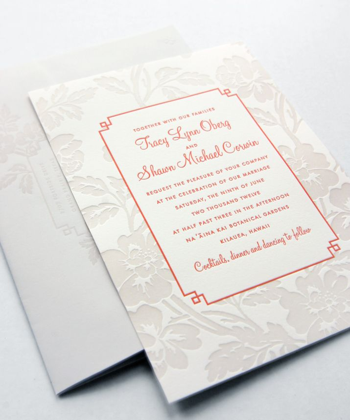 keralwedding card wordings in english%0A Dauphine Press specializes in elegant wedding invitations and wedding  announcements that are unmatched for both their quality and skillful  letterpress