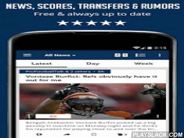 American Football League News  Android App - playslack.com ,  If you find gathering NFL news from multiple news sources to be annoying and time consuming - you've come to the right place. This app will get you up to speed with the latest NFL news for the team you love - and with no effort!WHAT WILL YOU FIND INSIDE?All the news, trades, rumors, videos & scores about the NFL and NCAA brought to you from dozens of websites in one easy to use interface!The app also covers the NFL Draft &amp…