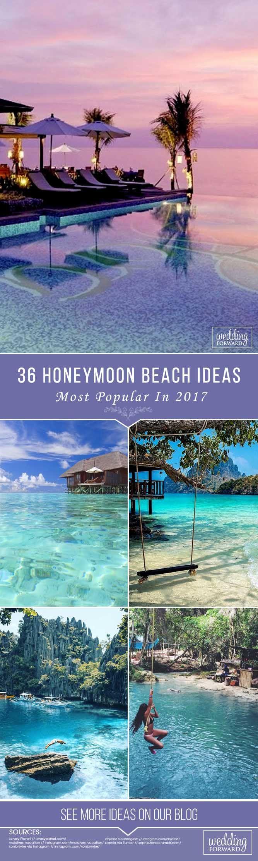 36 Most Popular Honeymoon Beach Ideas In 2017 ❤ Many couples looking for a beautiful honeymoon beach. See beautiful Greece, incredible Bali, amazing Thailand, Maldives and more on honeymoon images. See more: http://www.weddingforward.com/honeymoon-beach/ #honeymoon #destinations #honeymoonbeach