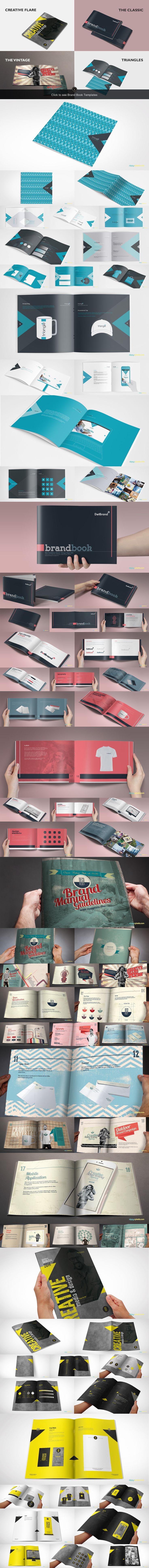 15 Brand Guidelines Templates Bundle by ZippyPixels on @creativemarket