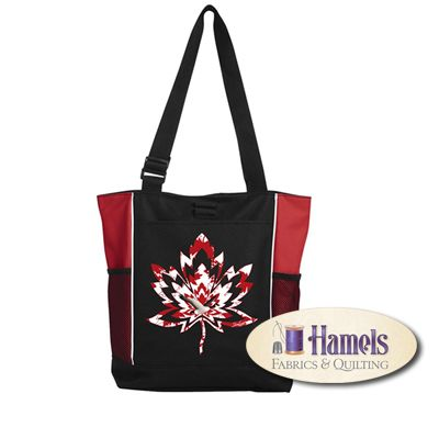 MAPLE CANADA GOOSE TOTE BAG BY SHANIA SUNGA