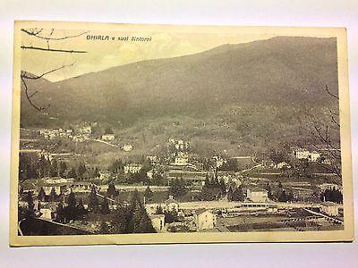 Veduta della frazione di Ghirla - Valganna (VA) - Viaggiata - 1930 c/a