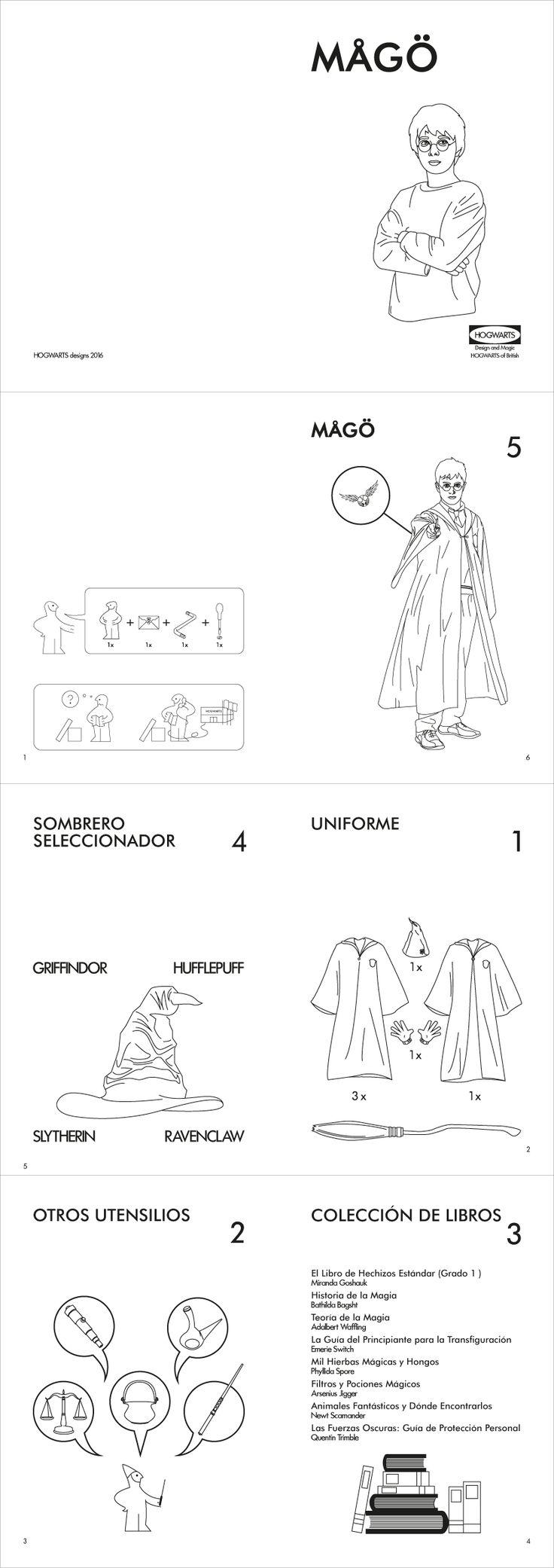Manual de IKEA para construir a un mago.
