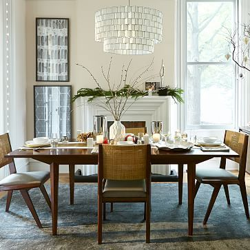 dining table  Upton Expandable Dining Table #westelm
