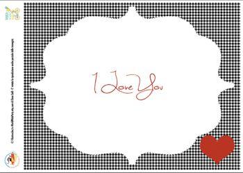 Kit d'Amore gratuito stampabile per San Valentino: biglietto di auguri, festone e tovaglietta per la colazione