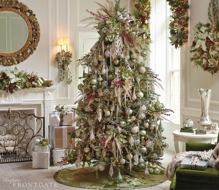 Elegant Christmas Themes: 17 Best Ideas About Elegant Christmas Trees On Pinterest