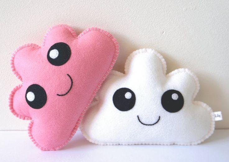 kawaii, cloud, cloud, baby, gift, cloud pillow, nursery