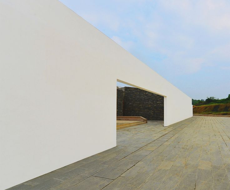 Completed in 2015 in Guiyang Shi, China. Images by Jingsong Xie / West-line studio. The Tourist Center is located just outside Chetian Village (车田村), on the main road arriving from Guiyang, the capital of Guizhou province. The stone...