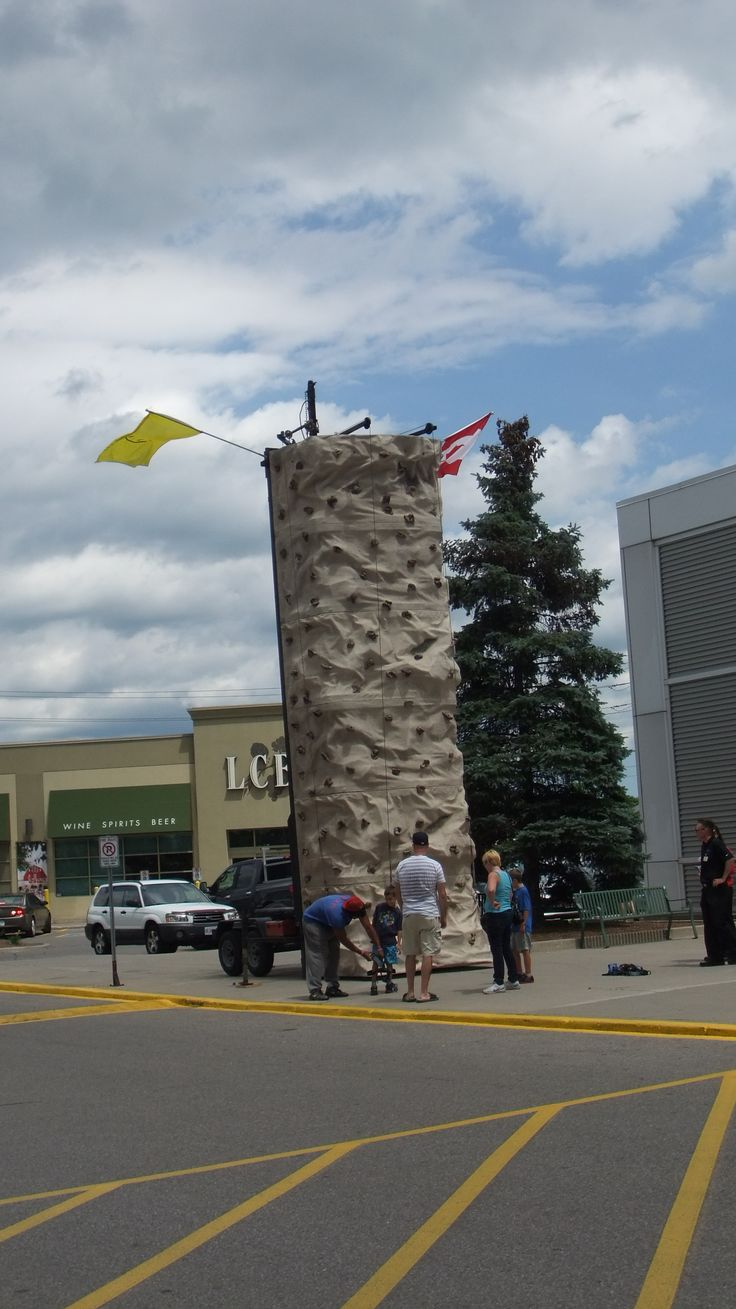 must be a great view from all the way at the top!! Would you climb it?? #ONCornFedBeef #food #BBQ #Fun