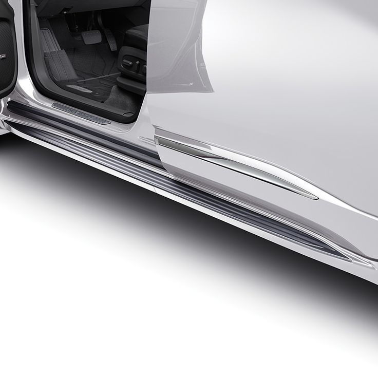 Get in and out of your Traverse with ease with these stylish Molded Assist Steps in Switch Blade Silver These Chevrolet Accessories assist steps feature a textured step pad for improved footing and direct chassis mounting for maximum support Designed engineered and tested by Chevrolet exclusively for the All New Chevrolet Traverse Designed to Color Coordinate with the Bodycolor moldings provided on the Premier and High Country Models Use Black Molded Assists Part 84357961 with LS LT and RS…