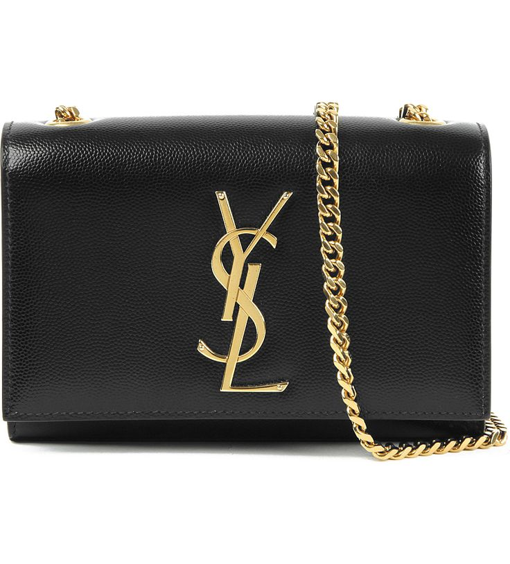 SAINT LAURENT Monogram small leather shoulder bag