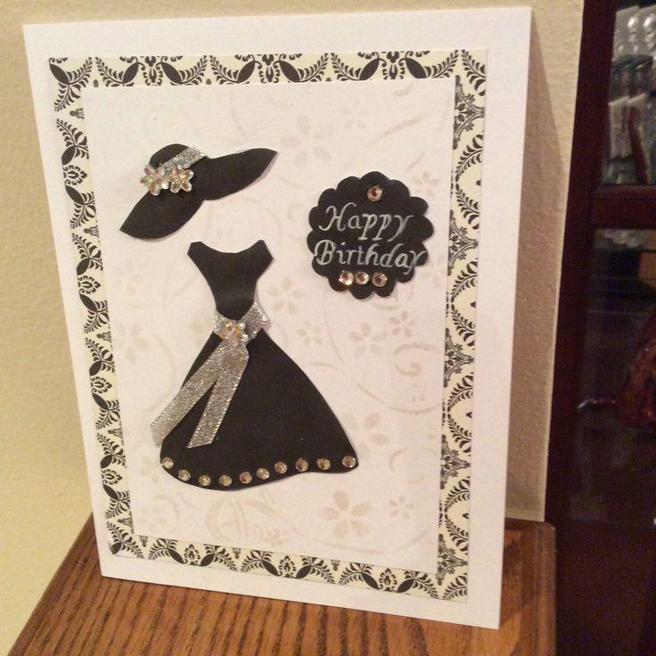 Tarjeta realizada para el cumpleaños de Angélica Bustamante