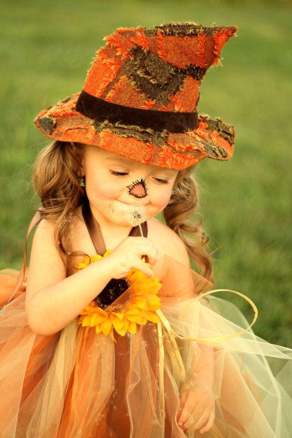 Sassy Little Scarecrow Tutu Dress sz 0-5 by lauriestutuboutique