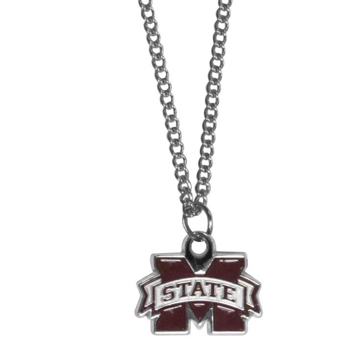NHL Siskiyou Sports Fan Shop Colorado Avalanche Chain Necklace with Small Charm 22 inch Team Color