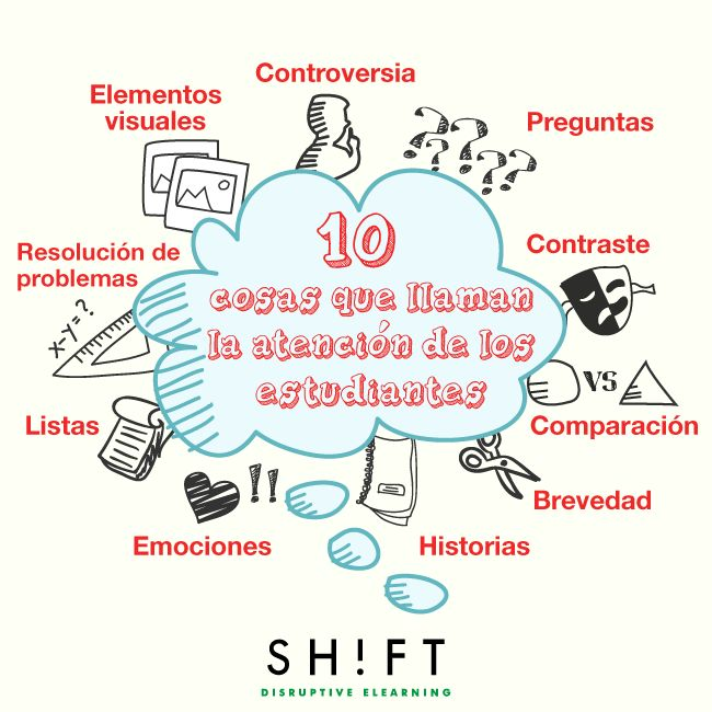10 cosas que atraen la atención de los alumnos (y cómo aplicarlo en eLearning)
