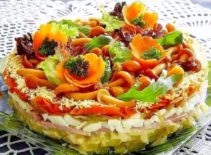 тактаров много праздничные салаты с фото и рецептами представлены