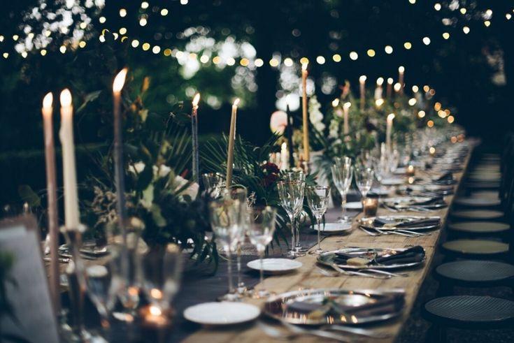 The LANE Real Weddings / A Gilded Garden Celebration