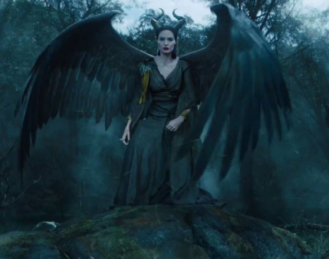 New Maleficent Trailer There Be Dragons Disney Maleficent