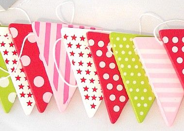 Gisela Graham Tea Party Bunting | Coast & Country Interiors