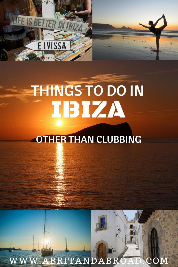 While Ibiza is famed for its nightlife, this Mediterranean Island off the coast of Spain has a lot to offer beyond the clubs. Here are some of the best things to do!