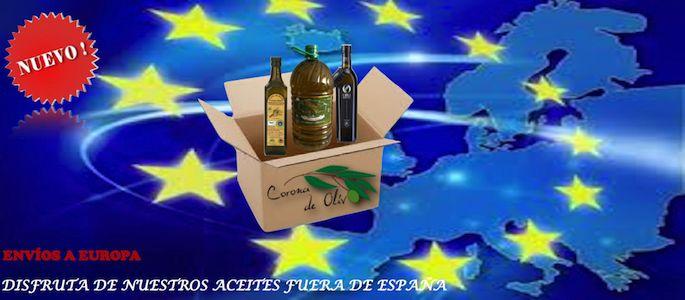 Nuevo servicio de envíos a Europa de aceite de oliva virgen extra