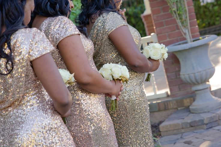 Love these stunning metallic bridesmaid gowns! Metallics are still trending. Photo: Courtney Lively 														  . . . #Love #SBM #SBMweddings #SBMbride #AZweddings #ArizonaWeddingVenue #OutdoorWeddings #GardenWeddings #ManorCourtyard #GardenPavilion #2016weddings #Marriage #Newlyweds #JustMarried #Bride #Groom #Celebrate  Photo| Courtney Lively Photography  Venue: The Garden Pavilion @ Stonebridge Manor