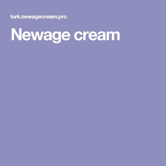 Newage cream