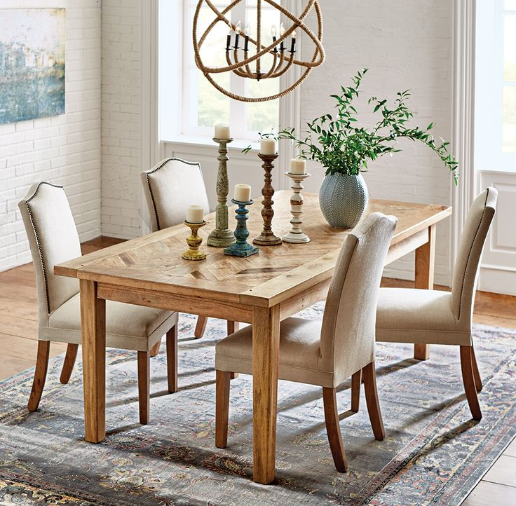 Home Decorators Collection Parquetry ft  Rectangular Wood Dining Table in    The Home Depot176 best Dining Room images on Pinterest   Dining room  Dining  . Safavieh Ludlow Dining Table. Home Design Ideas