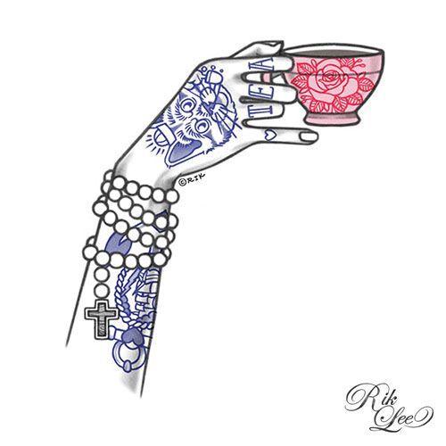 Coffee time.Illustration: Rik Lee