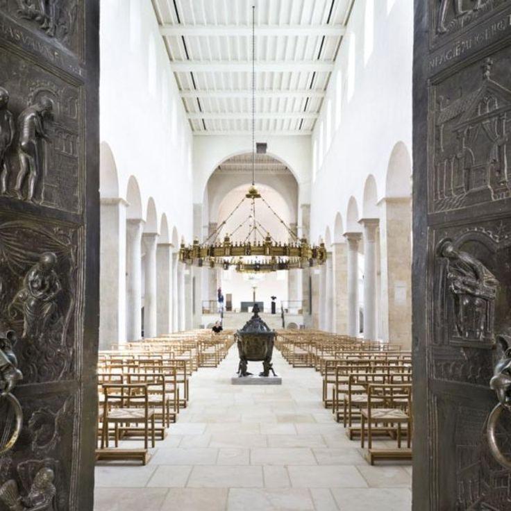 Dom und Michaeliskirche in Hildesheim ©Bischöfliche Pressestelle Hildesheim, Manfred Zimmermann