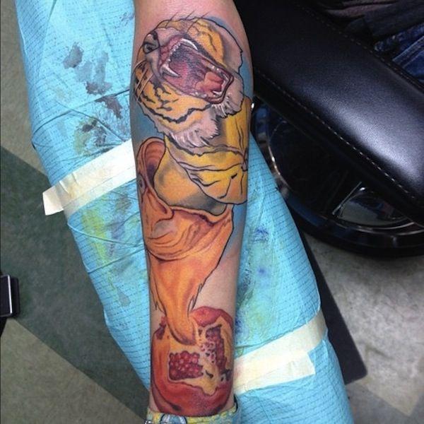 Salvador Dali Tattoo Dali Tattoo: 17 Best Ideas About Salvador Dali Tattoo On Pinterest