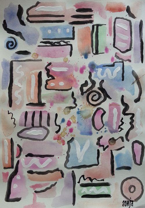 Sonja Peacock | Paintings & Prints, Drawings & Illustration, Digital Art